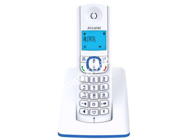 mobile alcatel t l phone sans fil f530 s bleu au meilleur prix. Black Bedroom Furniture Sets. Home Design Ideas