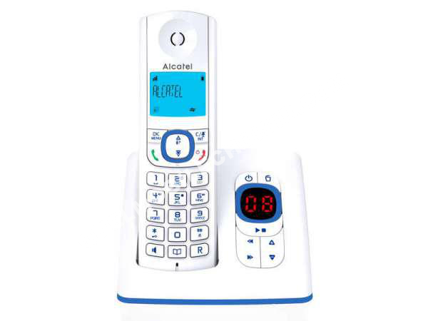 mobile alcatel t l phone sans fil f530 voice s bleu au meilleur prix. Black Bedroom Furniture Sets. Home Design Ideas