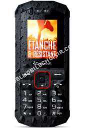 Mobile seul Spider-X1 - noir - Téléphone able SIM
